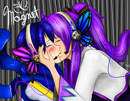 Gakupo And Kaito Magnet by cacahuate16