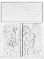 A Tragedy of Angels 4 pencils by KamouriKing