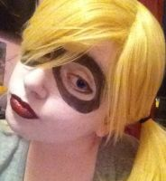 Harley Quinn, pleased ta meet cha! by CaptainBubbels