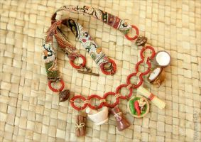 Necklace Cuisine of Asia by allim-lip