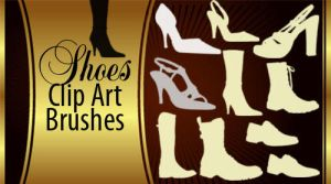 Shoes Silhouette Brushes by fiftyfivepixels