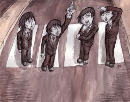 The Beatles by Horace-Bulregard
