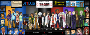 Yellow Rose Trauma Team by Aileen-Rose