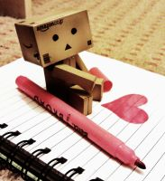 Danbo the DeviantArt'ist by Gummi-Bear-07