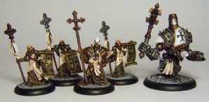 WARMACHINE Menoth choir and Reedemer by FraterSINISTER