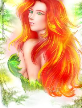 Poison Ivy Portrait by Avistic