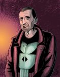 Steve Dillon as the Punisher by peterszebeni