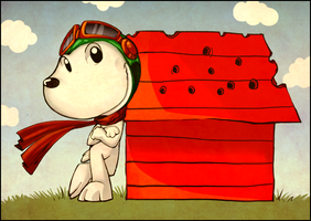 Snoopy by Rumay-Chian