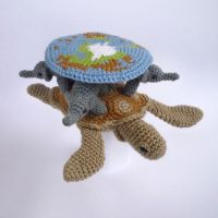Crochet Discworld by LunasCrafts