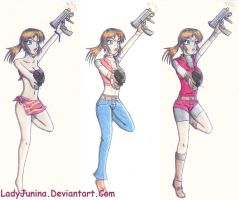 Old Stuff : Claire Redfield by LadyJunina
