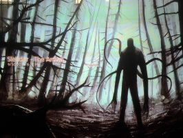 playing Slender: The Arrival  by CryKilling