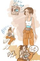 Portal 2 : Sketch Dump by Criana