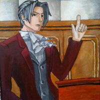 Miles Edgeworth by PurplePeach87