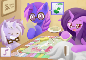 Commission TableTop game by HowXu