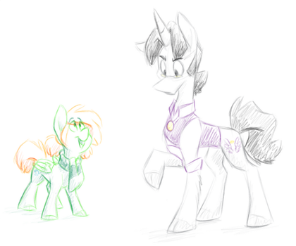 My horses by Luximus17