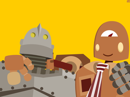 Iron Giant and BIL by JRHill