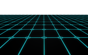Another Tron Type Floor by Taz09