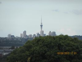 View of the Auckland Skycity by AZ-Derped-Unicorn