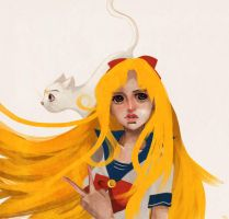 Sailor V by warnia