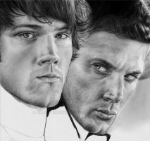 :SPN JENSEN IN PROGRESS: by Angelstorm-82