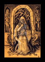 Hastur, as the King in Yellow by Orm-Z-Gor