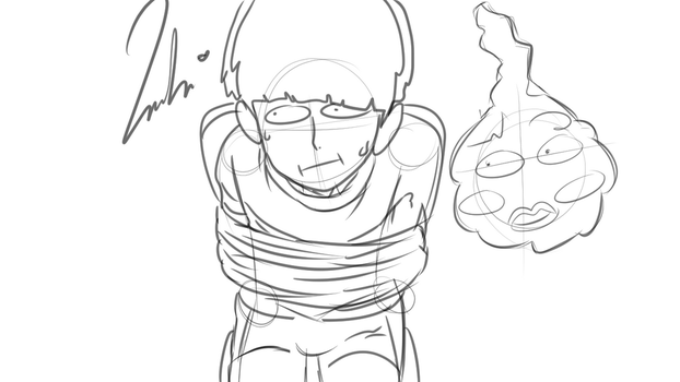 Mob Psycho sketch by YeonD00Texe