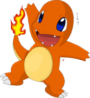 Pokedex challenge 004 charmander by Blue-Diamond-Shadow