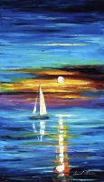 Horizon 2 by Leonid Afremov by Leonidafremov