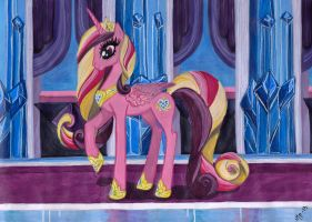 Princess Cadence by Angel-gotic