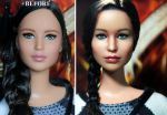 Hunger Games Katniss Everdeen custom doll by noeling