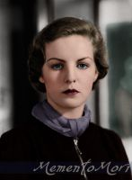 Deborah Mitford, duchess of Devonshire by M3ment0M0ri