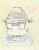 Carl Fredricksen by partofmydreams