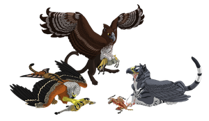 Milvus, Skerry and Gio - Klipspringer Supper by Shadow-and-Flame-86