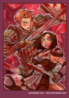 PSC - Alistair and Cousland 5 by aimo