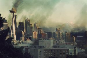 Seattle after the Overwar by duros