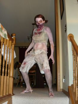 Left 4 Dead 2 Spitter cosplay by Tycho