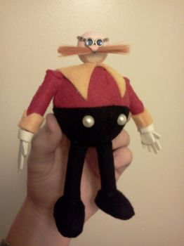 Classic Dr. Eggman Figure by SonarX