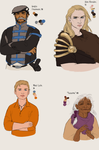 TNT Misc Characters by Aerorwen