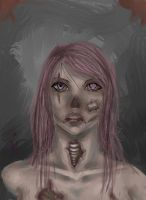 Pink Ghoul by ShadowJade120008