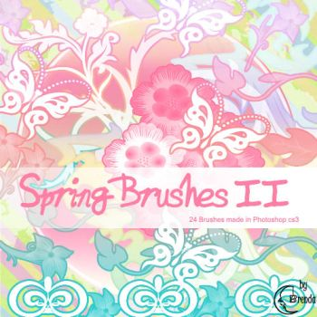 Spring Brushes II by Coby17