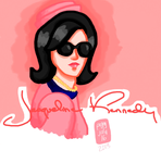Jackie O in Pink by makichan1910