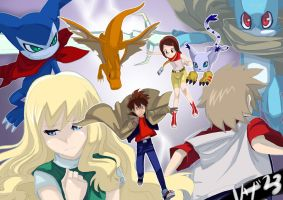 Tamers and NON Tamers by Riza23