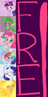 FREE MY LITTLE PONY ICONS by MissMooButt