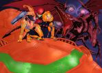 Metroid by Hanzo Colored by Voodoodwarf