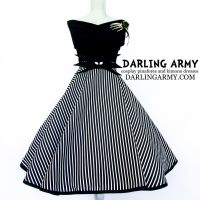 Jack Skellington Vintage Inspired Pinup Skirt by DarlingArmy