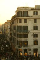 from the spanish steps by bewing