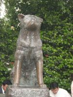 Hachiko Memorial by InuDran
