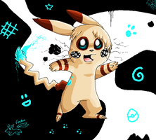Checkers The Artchu by Nine-tailed-FireFox