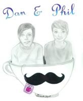 Dan and Phil T-Shirt Contest by Carmelasegal