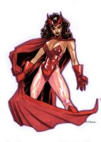Scarlet Witch by MahmudAsrar